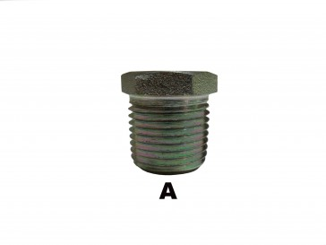 "1/4"" Male Pipe Hex Socket Plug"