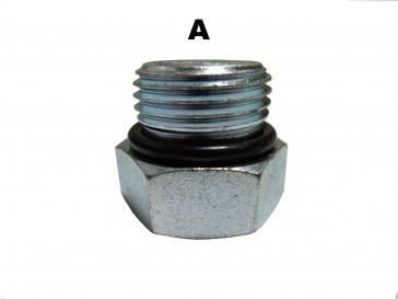 #8 O-Ring Hex Socket Plug