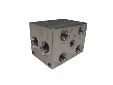D03 Series Solenoid Valve Manifold AD03-S-022-S