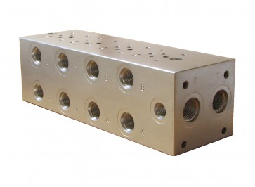 D03 Parallel Solenoid Valve Manifold AD03-P-042-S