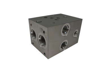 D05 Parallel Solenoid Valve Manifold AD05-P-013-S