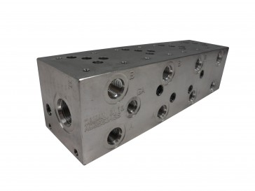 D05 Series Solenoid Valve Manifold AD05-S-043-S