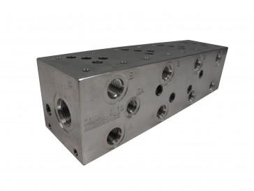 D03 Series Solenoid Valve Manifold AD03-S-042-S