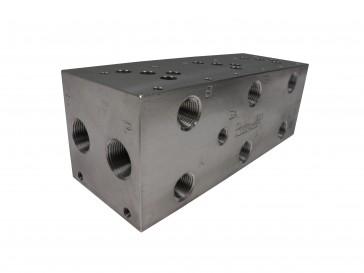 D05 Series w/ Relief Cavity Solenoid Valve Manifold AD05-S-023-S-C