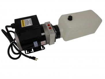 A/C Compact Power Unit 0.9 GPM 2 Gallon Poly Reservoir