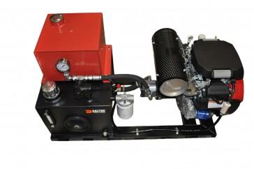 Rail Mount Hydraulic Unit & 20 HP Engine