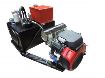 Rail Mount Hydraulic Unit & 26 HP Engine