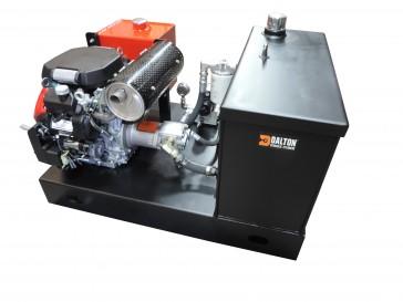L-Tank Units Hydraulic Units & 20 HP Engine