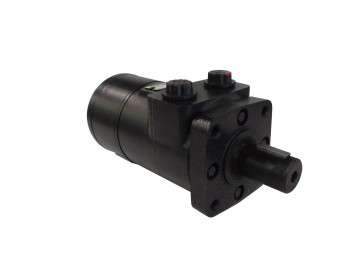 H Series Hydraulic Motor 234 Max RPM 1/2 NPT 4-Bolt