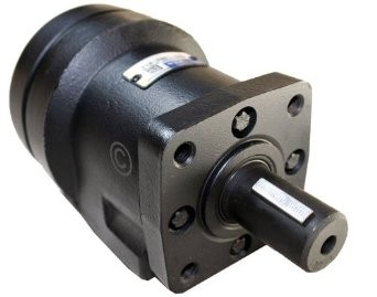 S Series Hydraulic Motor 343 Max RPM 1/2 NPT 4-Bolt