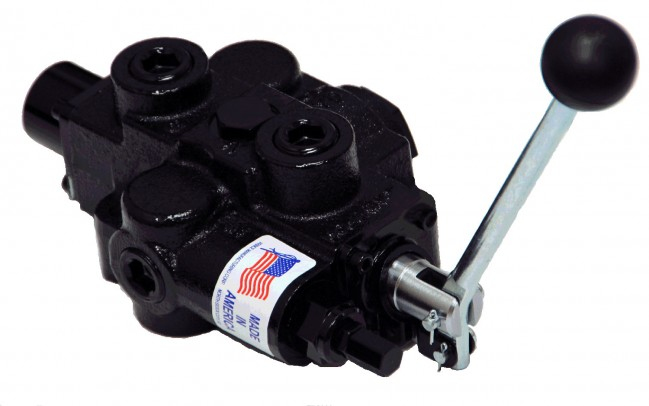 Prince rd5100 directional control valve 30gpm rd515ca5a4b1 for Hydraulic motor control valve