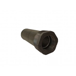 """2"""" NPTM to 1-1/4"""" NPTF 25 GPM Tank Mounted Strainer"""