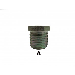 "1/4"" Male Pipe Hex Socket Plug"