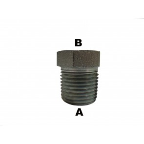 "1/2"" Male Pipe to 3/8"" Male Pipe  Reducer Bushing"