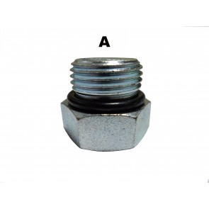 #8 O-Ring Hex Socket Plug