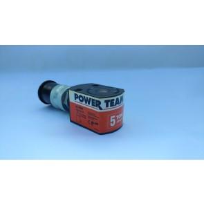 "SPX Power Team RLS50 Cylinder, 5 Ton, 9/16"" Stroke, Single Acting, Spring Return"