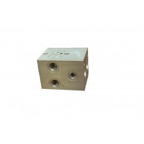 D03 Series w/ Relef Cavity Solenoid Valve Manifold AD03-S-012-S-C