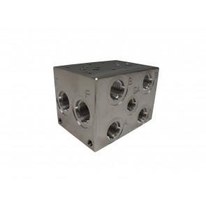 D03 Series w/ Relef Cavity Solenoid Valve Manifold AD03-S-022-S-C