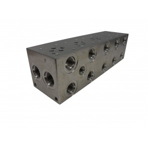 D03 Parallel Solenoid Valve Manifold AD03-P-052-S