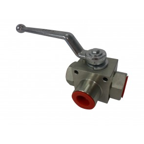 High Pressure 3-Way Ball Valve