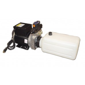 A/C Compact Power Unit 0.9 GPM 2 Gallon Poly Reservoir