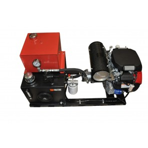 Rail Mount Hydraulic Unit & 20 HP Engine