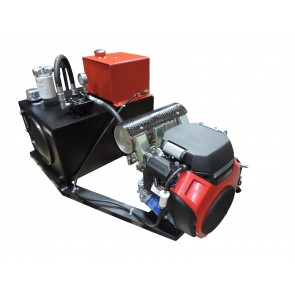 Rail Mount Hydraulic Unit & 26 HP Engine