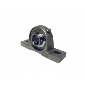 "1 3/16"" ID SUCSP Series Stainless Steel Pillow Block Bearing"