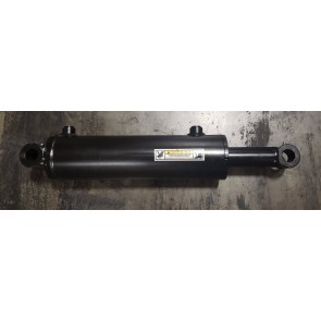 "Dalton Hydraulic Cross Tube Cylinder 3.5"" Bore 10"" Stroke 3000 PSI, #8 SAE"