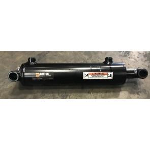 "Dalton Hydraulic Cross Tube Cylinder, 3"" Bore 10"" Stroke 3000 PSI, #8 SAE"