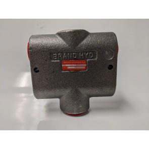 Brand Hydraulics BG501-3/4 Non-Adjustable Constant Volume Priority Divider