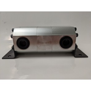 Rotary Gear Hydraulic Flow Divider - 2 Section, 9 GPM